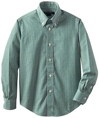 Brooks brothers little boys 39 non iron gingham for Brooks brothers non iron shirt review