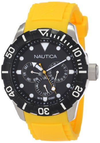 Nautica NSR 101 Multifunction Yellow Unisex watch #N13644G