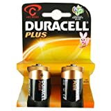 Duracell plus 10Packsx2C cells=20C cells