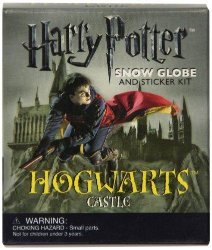 Harry Potter Hogwarts Castle Snow Globe and Sticker Kit (Running Press Mini Kit)