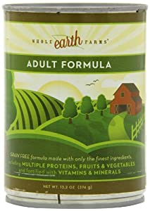 Merrick Whole Earth Farms Adult Chunky Loaf Dog Food, 13.2 Ounce Can (12 Pack)