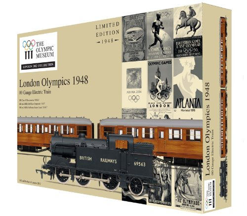 Hornby R2981 London 2012 1948 Games 00 Gauge Limited Edition Train Pack