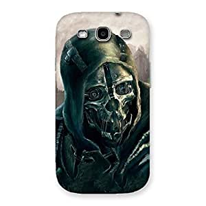 Enticing Deadly Skull Back Case Cover for Galaxy S3