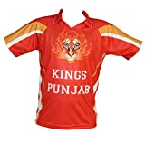 All over stylish digitally Printed Unisex Cricket T-shirts - Inspired from - Preity zinta favorite Kings Punjab. Show off your team spirit with this unique looking t-shirt! Get yours Today! About Chest Size : S-34