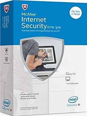 McAfee 2015 Internet Security 1 PC