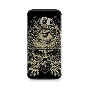 Mobicture Skull Art Premium Printed Case For Sasmung Galaxy S6