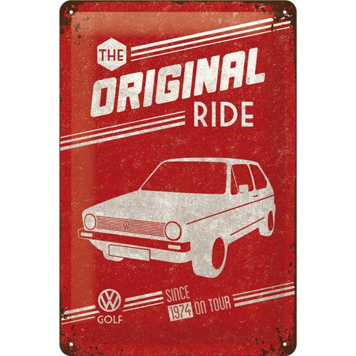 nostalgic-art-22212-volkswagen-vw-golf-the-original-ride-blechschild-20-x-30-cm