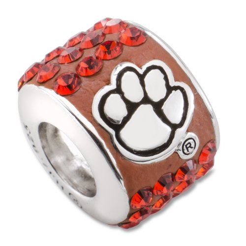 University of Clemson Tigers NCAA Premier Bead