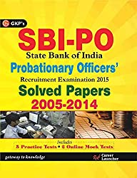 SBI P O Solved Papers (2005 - 2014) Includes 5 Practice Tests & Free Online Mock Tests