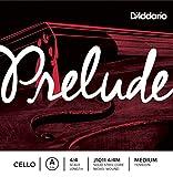 D\'Addario Bowed Corde seule (La) pour violoncelle D\'Addario Prelude, manche 4/4, tension Medium