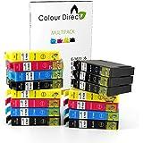 15 XL Haute Capacité ColourDirect Compatible Cartouche D'encres Pour Epson WorkForce WF-2010W, WF-2510WF, WF-2520NF, WF-2530WF, WF-2540WF, WF-2630WF, WF-2650DWF, WF-2660DWF imprimeur