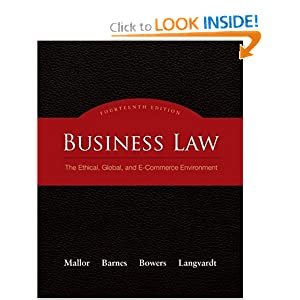 Business Law Textbooks