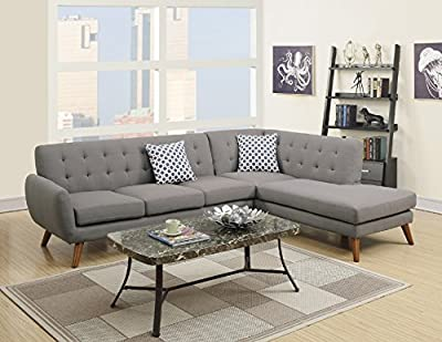 Modern Retro Sectional Sofa