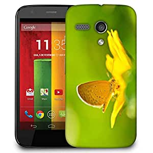 Snoogg Colorful Garden Designer Protective Phone Back Case Cover For Motorola G / Moto G