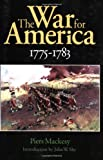 The War for America, 1775-1783 (0803281927) by Piers Mackesy