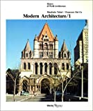img - for Modern Architecture / 1 (History of World Architecture) by Manfredo Tafuri (1986-05-03) book / textbook / text book