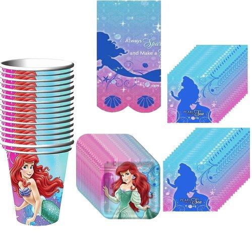 Hallmark BB1TBL3896 Little Mermaid Table Cover