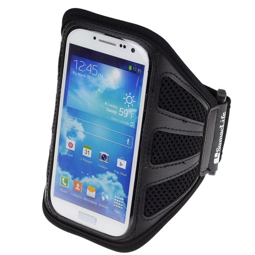 SumacLife Workout Running Armband for Samsung Galaxy S4 / Samsung S3 / Nokia Lumia / Nexus 5 / MOTO X / LG G2