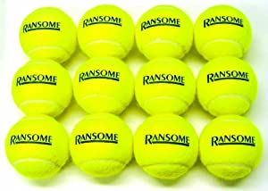 Ransome Tennis Balls Dozen pack from Ransome Sporting Goods
