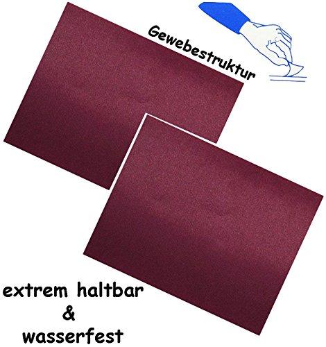 2-stuck-selbstklebende-reparatur-sticker-festes-stabiles-camping-nylon-bordeaux-dunkel-rot-lila-wass