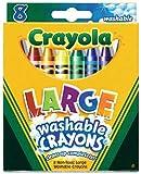 Crayola 52-3280 8 Washable Large Crayons