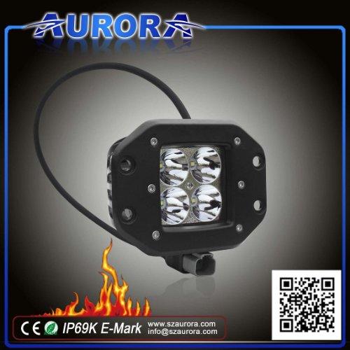 "Aurora 2"" W-Series Led Offroad Light- 2,200 To 2,800 Lumens (Flush Mount, Spot Beam Pattern)"