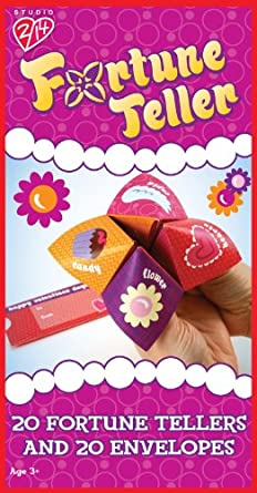 Fortune Teller Valentine's Day Cards Party Accessory