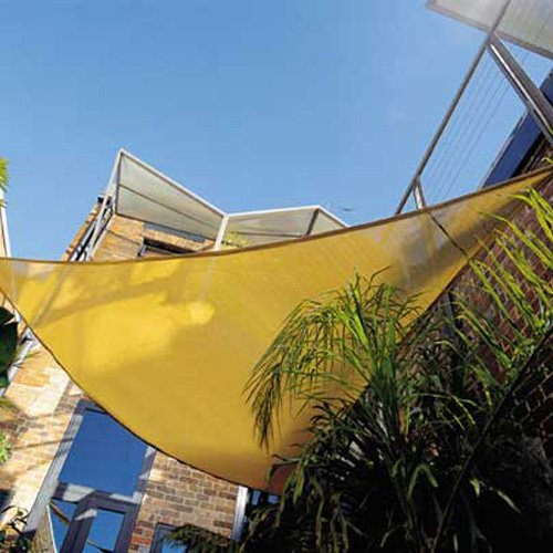 Modern Home Sail Shade Right Triangle (16.5' x 16.5' x 23') modern 3 color adjustable triangle