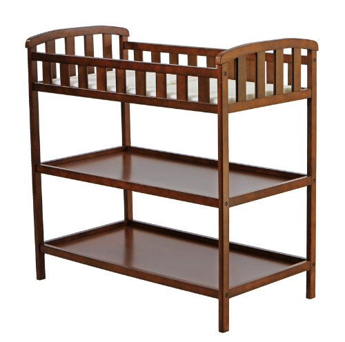 Dream On Me Emily Changing Table, Espresso front-1077371