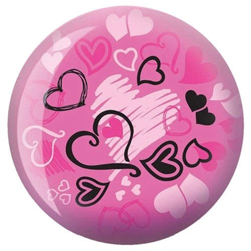 Hearts Glow Viz-A-Ball Bowling Ball (12lbs)