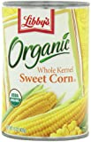 Libby's Organic Whole Kernel Sweet Corn, 15-Ounce  Cans (Pack of 12)