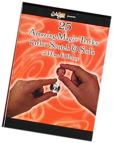 Forum Novelties Magic DVD 25 Scotch and Soda or Dime and Penny Magic Tricks