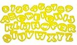 Lets Make Ausstecher Alphabet und Zahlen