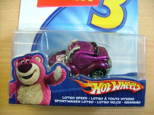 Toy Story 3 Hot Wheels Lotso Speed Car