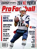 img - for 2014 Athlon Sports NFL Pro Football Magazine Preview- New England Patriots Cover book / textbook / text book