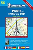 Michelin Paris Du Nord Au Sud: Plan Atlas (Michelin Maps: Paris Atlas (Map No 11))