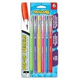 Promarx Pop-Up Pencils, 0.7 mm, Assorted Fashion Metallic Barrels, 6 Count (MQ26-FR7B06-48)