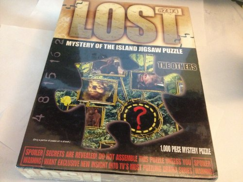 1 X Lost Jigsaw Puzzle #2 - The Others