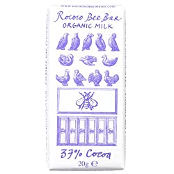 37% Organic Milk Chocolate Bee Bar