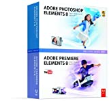 Adobe Photoshop Elements 8 & Adobe Premiere Elements 8 日本語版 Windows版