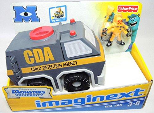 Fisher-Price Imaginext Disney's Monsters University CDA Van (Cda Monsters Inc compare prices)