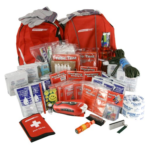 Survivor Emergency Kit-4 Person, Emergency Zone brand, Disaster Survival Kit, 72 Hour Kit