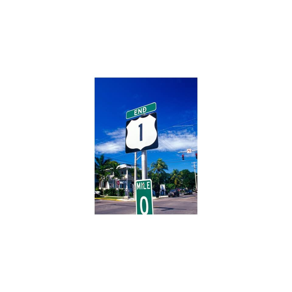 Mile marker 0 key west florida keys florida usa