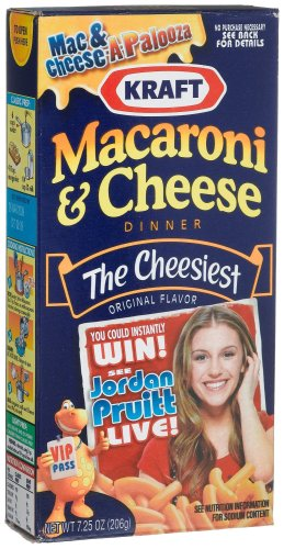 Kraft Macaroni and Cheese, 7.25-Ounce Boxes (Pack of 24)