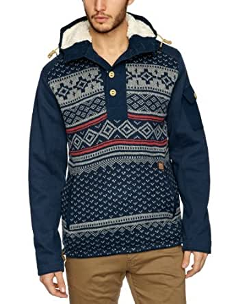 Duck And Cover Coyle Men's Jumper French Navy Large
