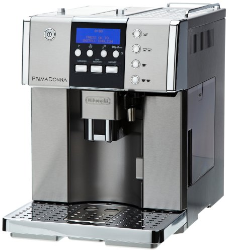 De'Longhi Prima Donna ESAM6620 15-Bar Fully Automatic Bean to Cup Espresso/Cappuccino Machine, Stainless Steel