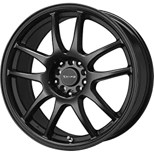 Drag DR-31 Flat Black Wheel (17×7″/5x100mm)