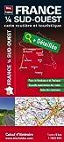 echange, troc Blay-Foldex - France 1/4 Sud-Ouest - Carte routière et touristique (échelle : 1/500 000)