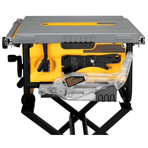 Dewalt 10 inch compact job site table saw with guarding for 12 dewalt table saw