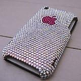 iPhoneケース 3G/3GS デコカバー ピンクアップル